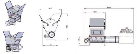 Compacteur de big bag Palamatic Process