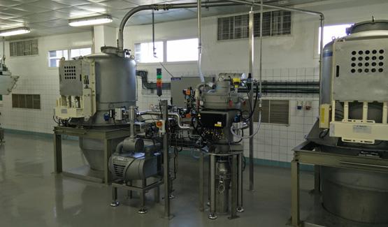 Ligne de production de préparation de mélange à gâteaux