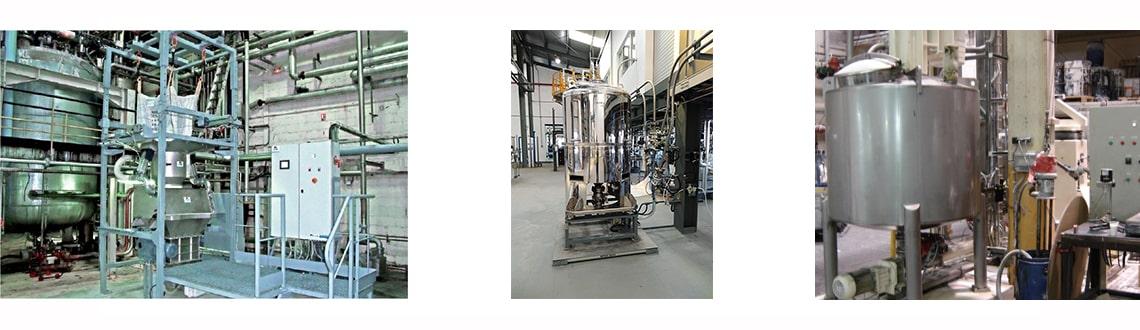 Chargement réacteur Bulk-NitroFill® process