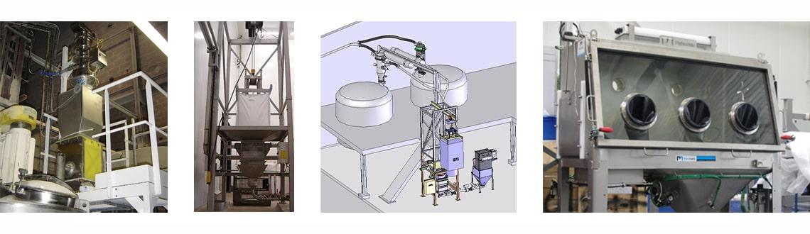 Chargement réacteur ligne Bulk-NitroFill®