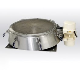 Vibratory sieve without cover plate