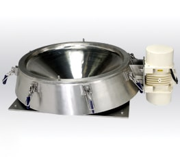 Vibratory sieve without mesh screen