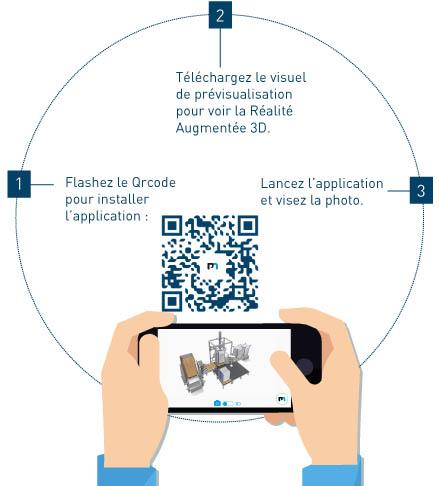Application 3D palamatic process
