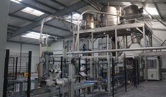 ligne de production de produits phytotherapeutiques