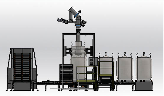 Remplir big bag FlowMatic 04 Palamatic Process