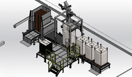 Remplissage big bag FlowMatic 04 Palamatic Process