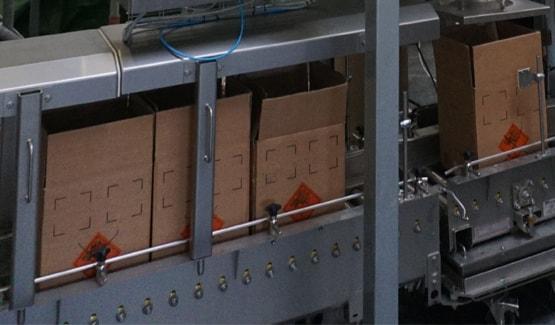 Remplissage de cartons