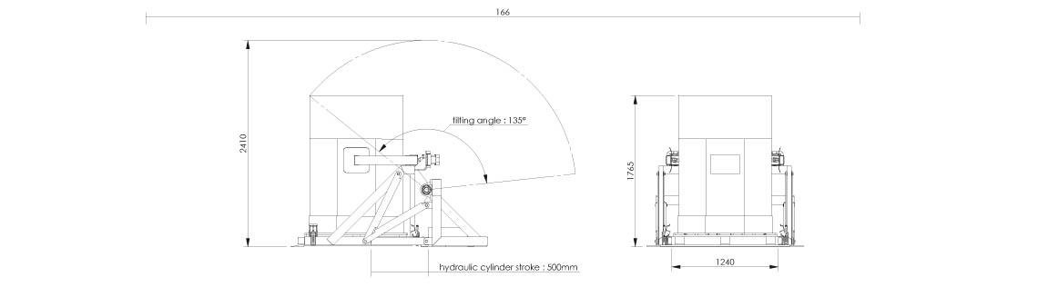 Schéma de vidange octabins - Octoflow 02