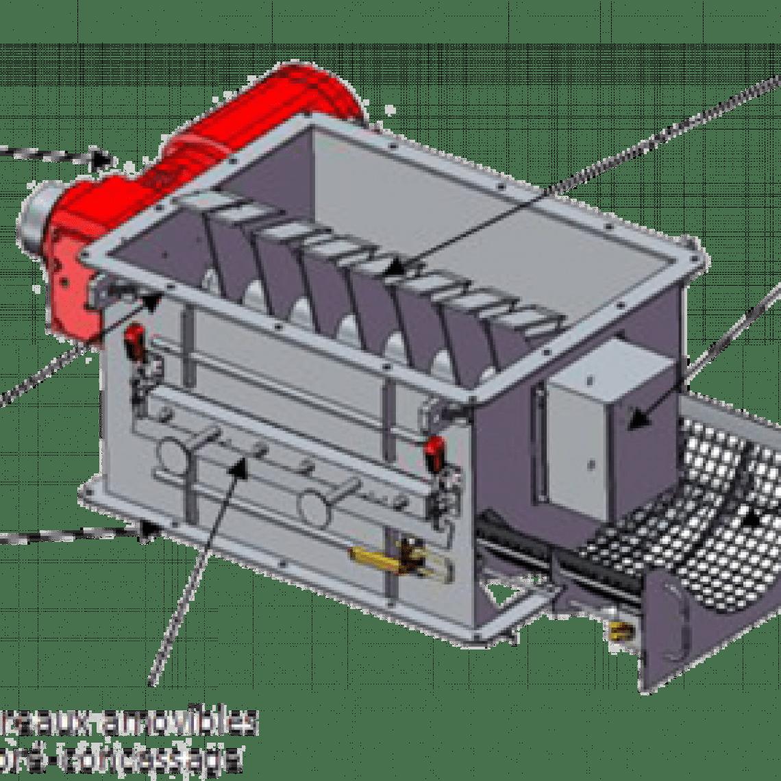 granulateur caracteristiques techniques plan palamatic process
