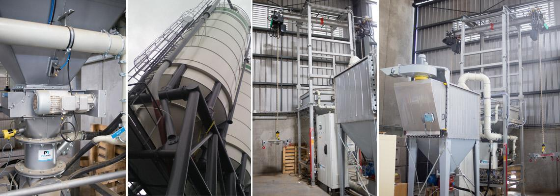 Vidange big bag - Palamatic Process