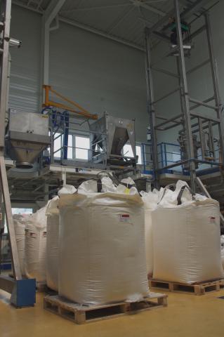 Transfert confiné de poudre de lait chez Palamatic Process