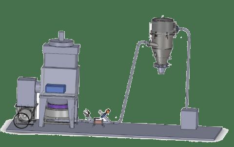 Implantation vanne manchon industrielle