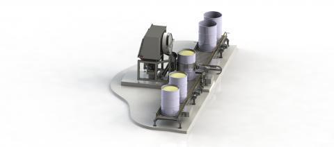 Station de vidange fûts - Palamatic Process