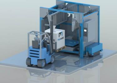 Cage de massage - Plan 3D