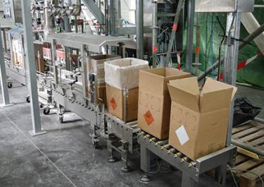 Conditionnement en cartons