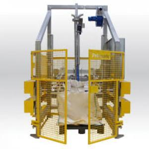 Vidange big bag - Canne d'aspiration