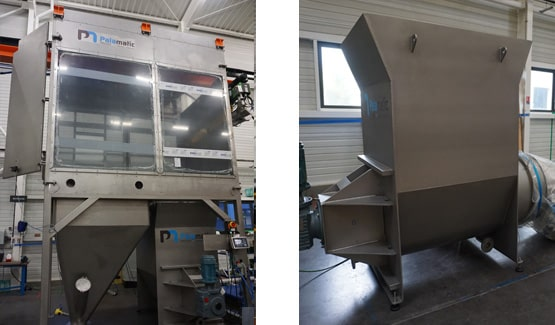 Vidange big bags semi-automatique Palamatic Process