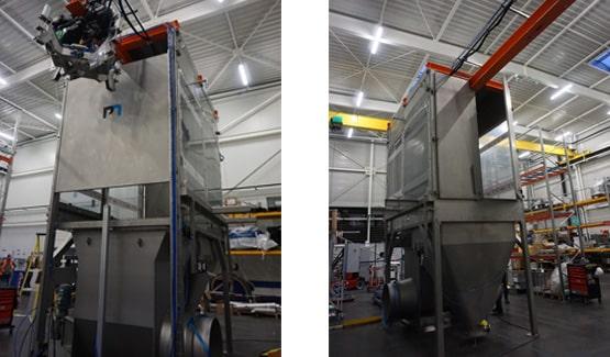 Vidange big bags semi-automatique EF200
